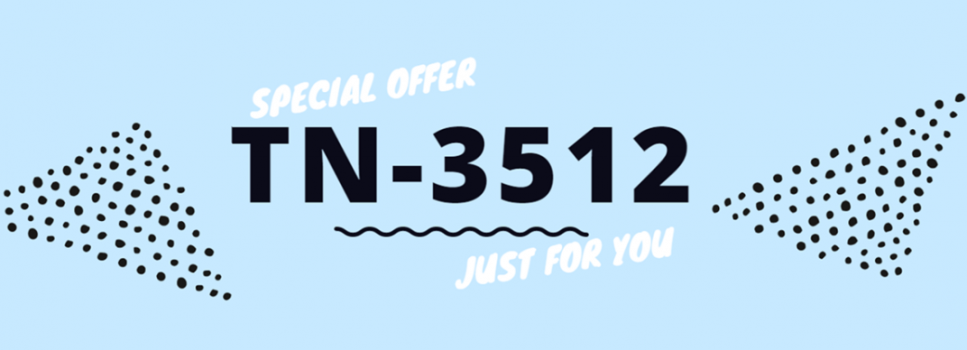 Special offer! Toner TN-3512