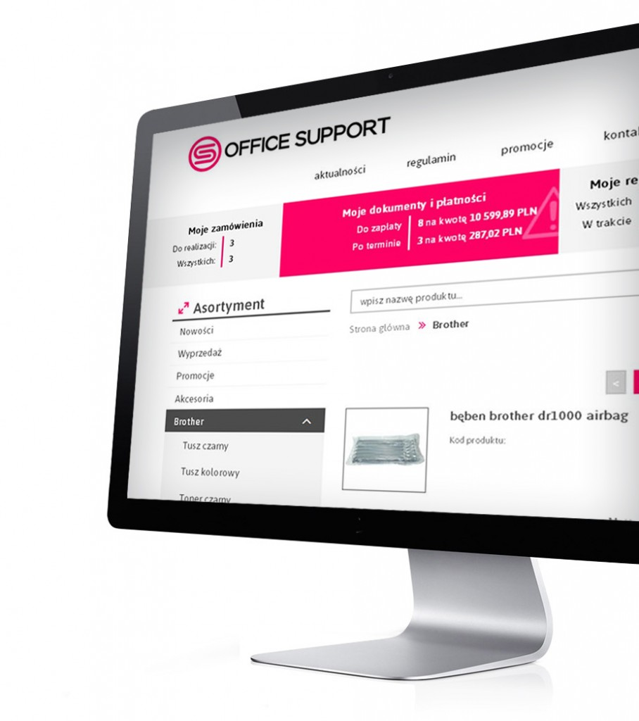 Office Support platforma b2b