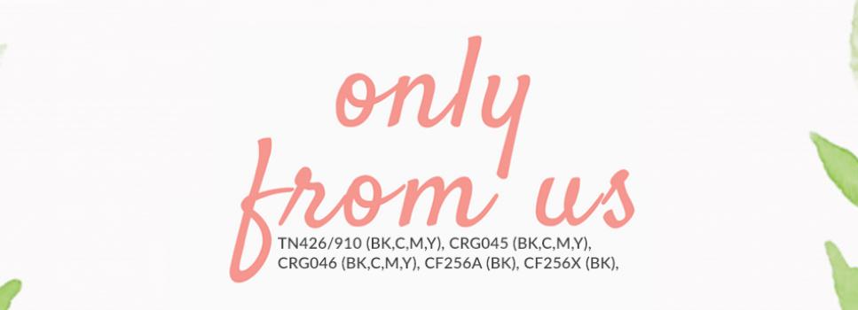 CF256A, CF256X, TN426/910, CRG045, CRG046