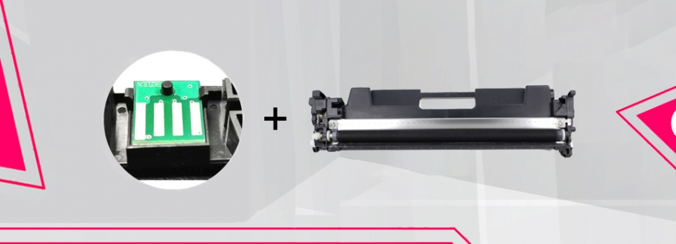 Toner CF217 CHIP – 100% NEW!